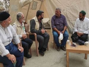 Umut Kervanı Manavgat'ta yangından etkilenen vatandaşları ziyaret etti