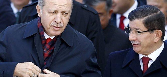Erdoğan ile Ahmet Davutoğlu'nun görüşmesi sona erdi