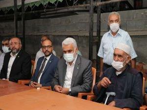 Yapıcıoğlu'ndan Konya'da 7 ferdi katledilen aileye taziye ziyareti