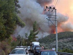Orman yangınlarının 8'inci gününde son durum
