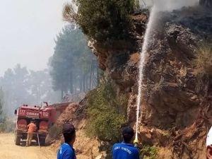 Muğla'daki yangınla ilgili 3 zanlı tutuklandı