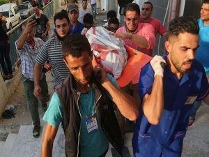 İşgalci siyonistlerin ağır yaraladığı Gazzeli çocuk şehid oldu