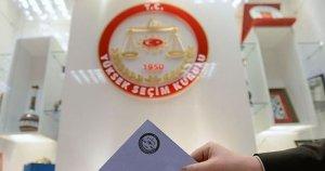 Yüksek Seçim Kurulu seçime girebilecek partilerin ismini açıkladı