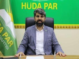HÜDA PAR Diyarbakır İl Başkanı Dinç'ten MHRS'ye tepki