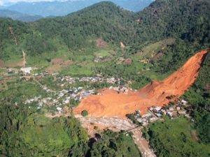 Meksika'daki toprak kayması