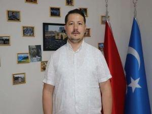 """İzbasar: İslam ülkeleri Doğu Türkistan'da yaşanan Çin zulmüne """"dur!"""" demeli"""