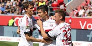 Bayern Münih üst üste 4'üncü kez şampiyon!