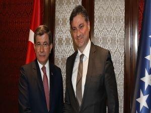Başbakan Davutoğlu, Zvizdiç ile görüştü