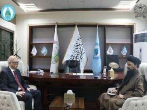 Türkiye'nin Kabil Büyükelçisi Afganistan'ın Başbakan Yardımcısıyla görüştü