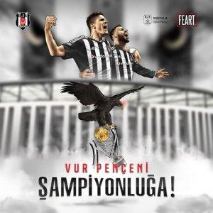 Beşiktaş şampiyonluğu paylaştı!