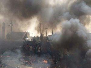 Bağdat'ta korkunç patlama!