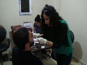 Engellilere yönelik ağız ve diş sağlığı taraması