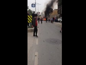 İstanbul' Sancaktepe'de patlama!