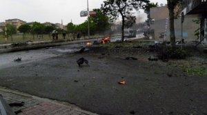 İstanbul Sancaktepe'deki patlama anı