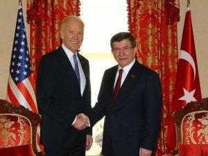 Davutoğlu ve Biden'dan ortak basın toplantısı