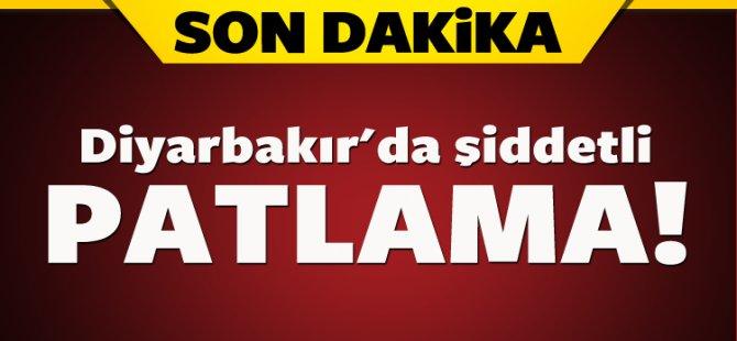 Diyarbakır'da bomba imalathanesinde şiddetli patlama