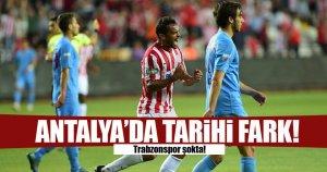 Tarihi fark! Trabzon spor şokta