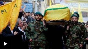 Binler Hizbullah komutanı Bedreddin'in cenazesine katıldı