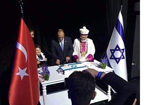 Vali yardımcısı İsrail'in kuruluşunu kutladı!