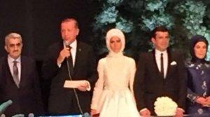 Erdoğan Kızını bu sözlerle uğurladı