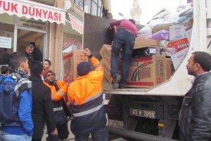 Siverekli STK'lardan Sur halkına yardım