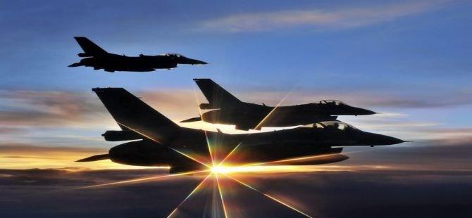 TSK'dan hava Harekatı operasyonu