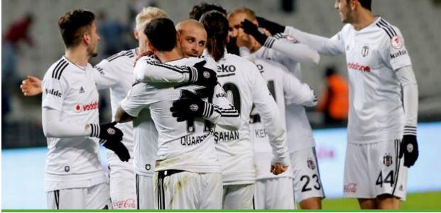 Beşiktaş son dakikada bulduğu golle yendi