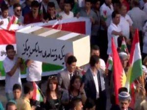 Erbil'de 'Sykes-Picot tabutu' taşındı