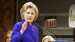 Hillary Clinton, rakibi Trump'un davranışlarını eleştirdi