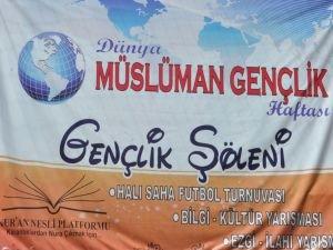 'Dünya Müslüman Gençlik Haftası' etkinlikleri start alıyor