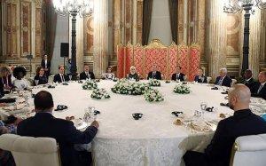 Cumhurbaşkanı Erdoğan'dan onur yemeği