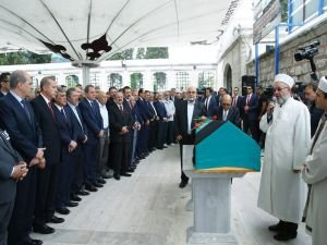 Cumhurbaşkanı Erdoğan, Bodur'un cenazesine katıldı