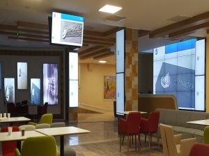 Dijital ekranlar ile Hastaneler daha sağlıklı iletişime sahip
