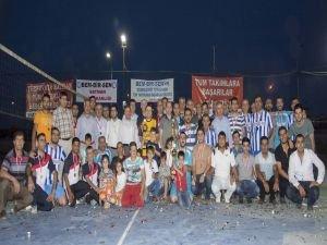 Bem-Bir-Sen voleybol turnuvası sona erdi