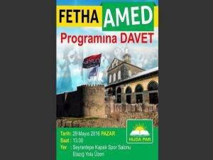 Yarın 'Amed'in Fethi' programı düzenlenecek!