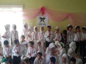 Helal olsun size: 80 Minik Kur'an-ı Kerim'i hatmetti