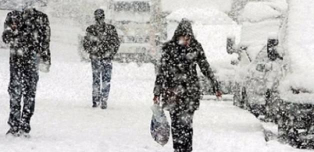 Sivas'ta okullar tatil edildi
