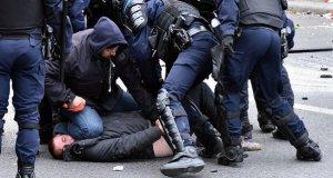 Fransız polisi orantısız güç kullandı