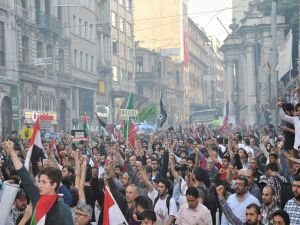 'Özgür Kudüs Yürüyüşü' yapıldı