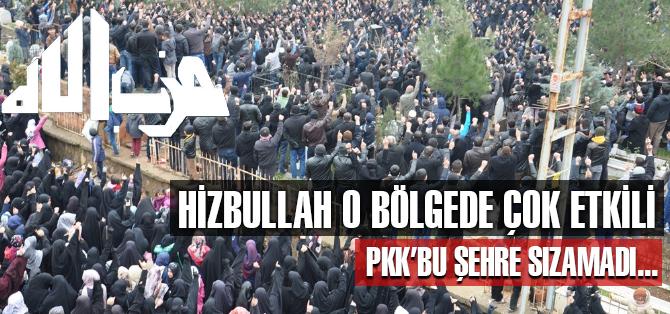 PKK, Hizbullah'ın etkili olduğu Batman'a sızamadı