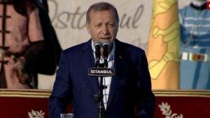 Cumhurbaşkanı Erdoğan muhteşem kalabalığa seslendi