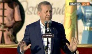 Erdoğan'dan birlik mesajı Bize bizden başka dost yoktur