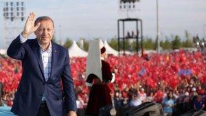 Erdoğan'dan 20.53'te teşekkür mesajı
