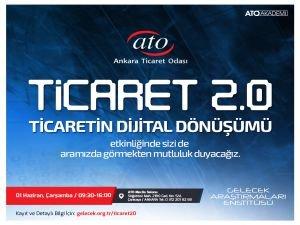 """ATO'dan """"Ticaretin Dijital Dönüşümü"""" etkinliği"""