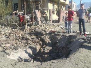 Silopi'deki patlamanın tahribatı ortaya çıktı