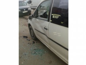 Batman'da maddi hasarlı trafik kazaları