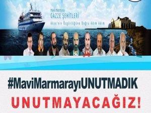 Mavi Marmara Şehitlerini Unutmayacağız