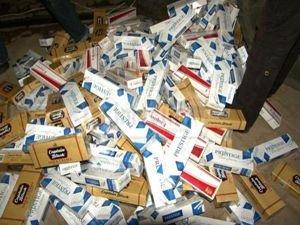 125 bin paket kaçak sigara ele geçirildi