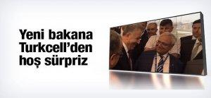 Turkcell'den yeni başkana sevindiren sürpriz!