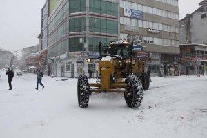 Bingöl'de Yoğun kar yağışı 278 köy yolunu kapadı